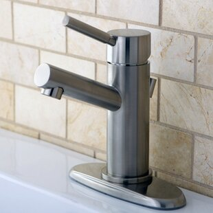 Buy clear Concord Single Hole Bathroom Faucet with Drain By Kingston Brass