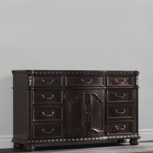 Pinehur 9 Drawer Double Dresser