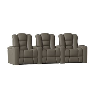 Latitude Run Home Theater Row Curved Seating (Row of 3)