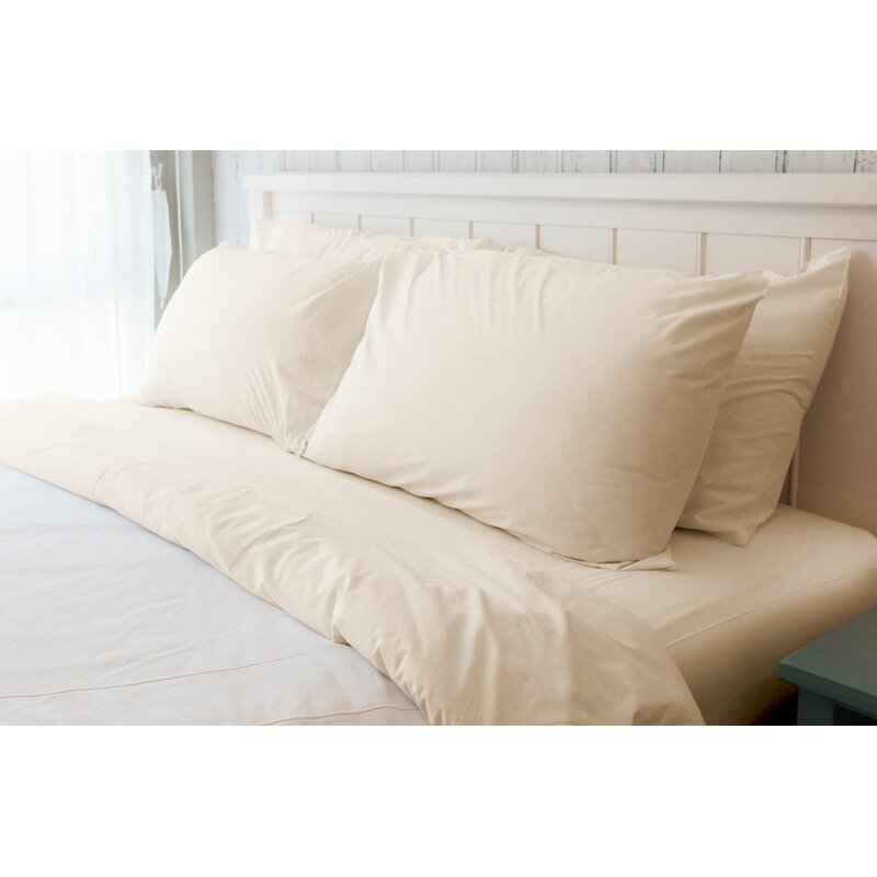 Meadowcrest Softest American Eco Friendly Airloom 230 Thread Count 100 Cotton Sheet Set