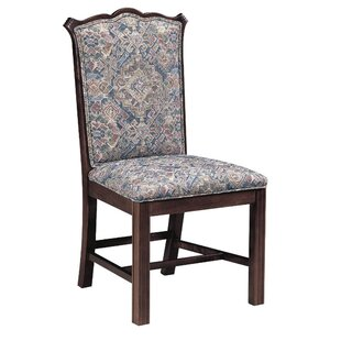 Upholstered Dining Chair by AC Furniture 2019 Coupon