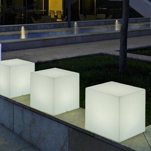 Frailey White Plug-In LED Floor Lamp Image
