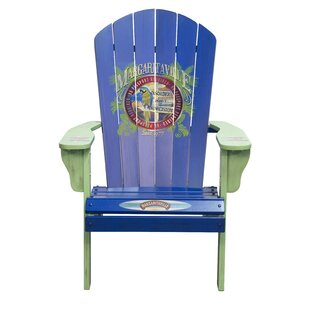 Margaritaville Port of Indecision Wood Adirondack Chair