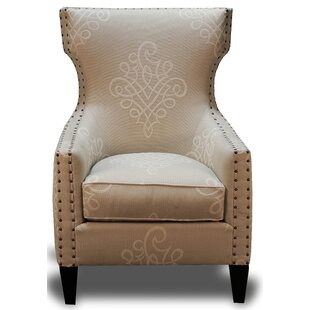 Darrell Wingback Chair by Bungalow Rose