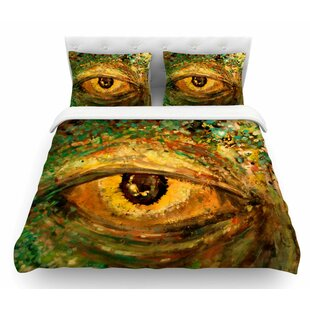 Eye of the Storm by Nathan Gibbs Featherweight Duvet Cover