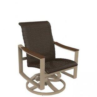 Brazo Woven Swivel Rocking Chair
