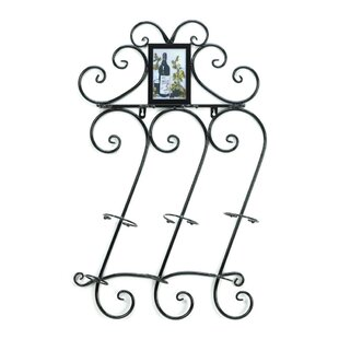 Zingz & Thingz Flourish 3 Bottle Wall Mounted Wine Rack