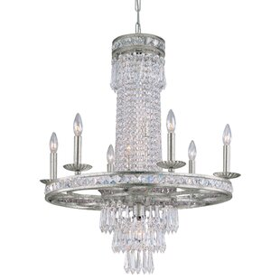 Astoria Grand Markenfield 10-Light Crystal Chandelier