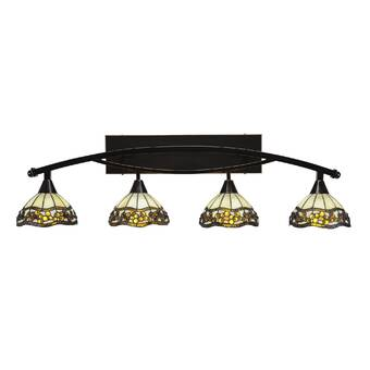 Mercer41 Rawls 4 Light Vanity Light Wayfair