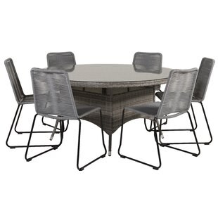 Mitul 6 Seater Dining Set By Sol 72 Outdoor