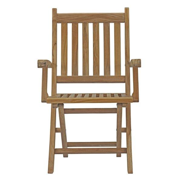 Outdoor Teak Folding Chair | Wayfair