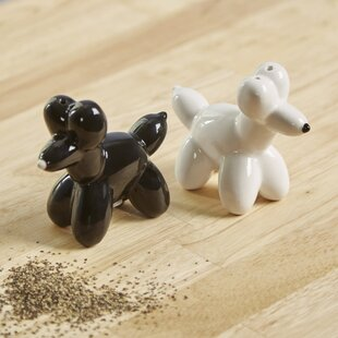 Hartington Balloon Animal Salt & Pepper Shakers