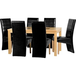 Montclair Dining Set With 6 Chairs By Mercury Row