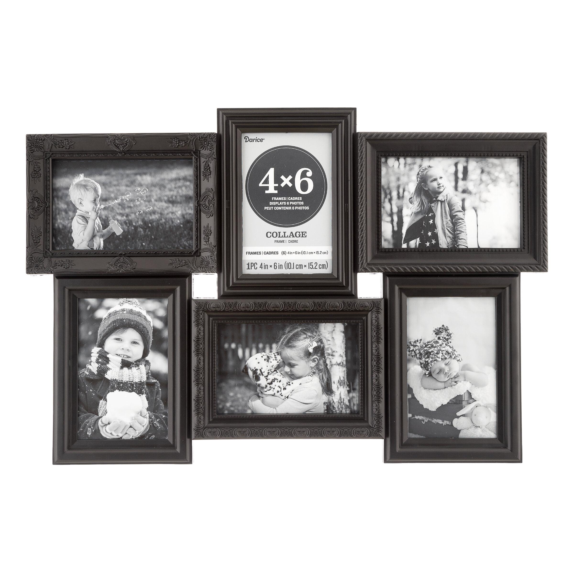 Multi Dimensional Plastic Collage Frame