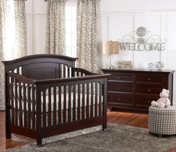 Medford 4-in-1 Convertible 2 Piece Crib Set