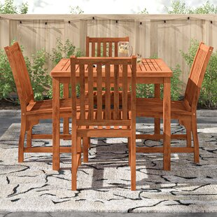 Evelynn 4 Seater Dining Set By Zipcode Design