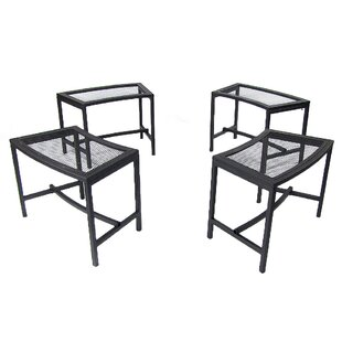 Freeport Park Haven Mesh Side Table (Set of 4)