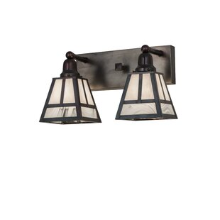 Loon Peak Youngquist 2-Light Vanity Light