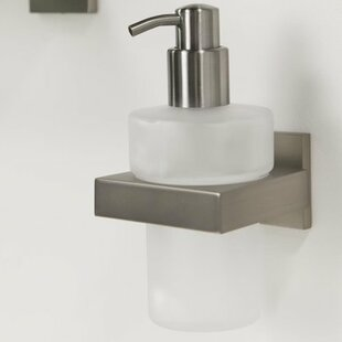 Soap Dispenser Wall Mounted Bathroom Accessories Youll Love Wayfair