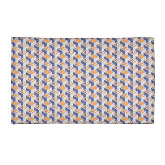 East Urban Home Tropical Blue Area Rug Wayfair