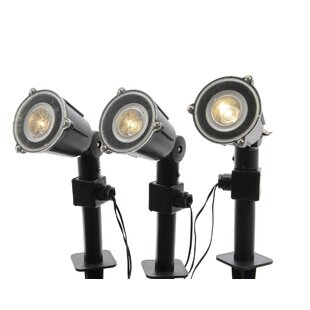 Northlight Seasonal 1-Light Spot Light (Set of 3)