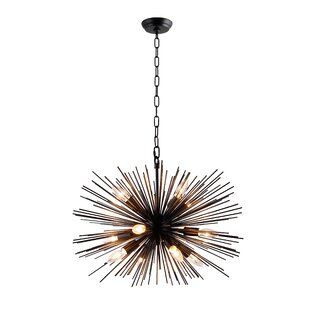 Wrought Studio Tiano 12-Light Sputnik Chandelier