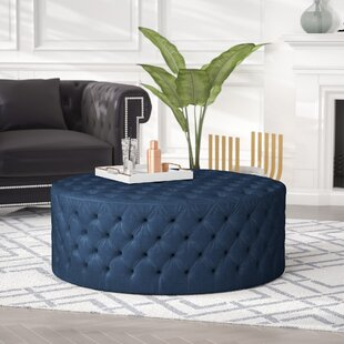 Darcella Tufted Cocktail Ottoman by Nordic Upholstery