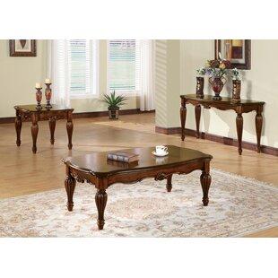 Astoria Grand Mccauley 3 Piece Coffee Table Set