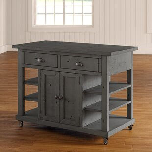 Benedetto Kitchen Island With Door by One Allium Way 2019 Sale