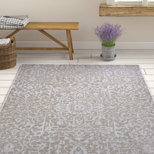 Deals Kraatz Palmette Gray Indoor/Outdoor Area Rug By Ophelia & Co.
