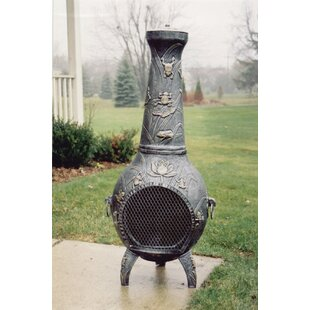Frog Cast Iron Wood Burning Chiminea By Oakland Living