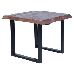 Trower Rustic End Table