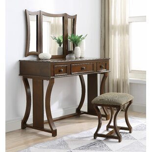 Albritton Vanity Set with Mirror by Darby Home Co