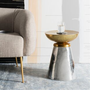 Haygood Drum End Table