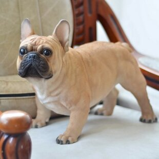 Hi-Line Gift Ltd. Dog French Bulldog Statue