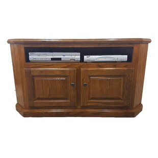 Cloninger Solid Wood Corner TV Stand For TVs Up To 55 Inches By Darby Home Co