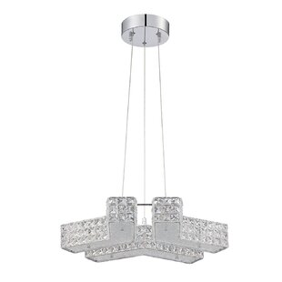 Dickerson 6-Light Crystal Chandelier by Rosdorf Park