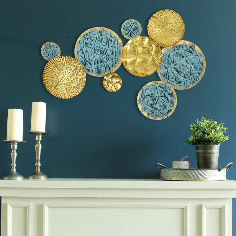 Jewels Of The Sea Plates Wall Décor