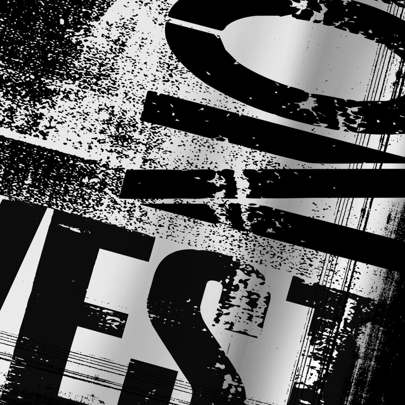 East Urban Home Lebens Art Grunge Typography Single Shower Curtain Wayfair