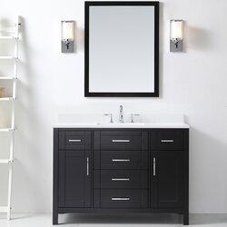 Ove Decors Tahoe 48 Single Bathroom Vanity Set With Mirror In