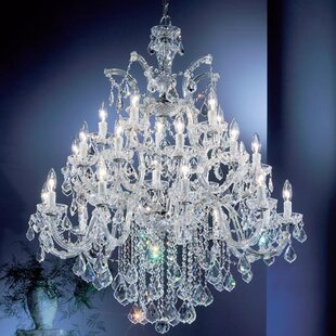 Classic Lighting Rialto 25-Light Candle Style Chandelier