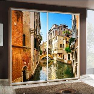 Venice 2 Door Sliding Wardrobe By Selsey Living