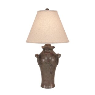 Haigler Curled Handle Vase 30 Table Lamp