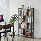Hasting Etagere Bookcase by Millwood Pines