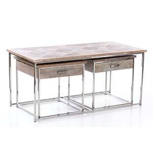 Armrong 3 Piece Coffee Table Set By Bloomsbury Market