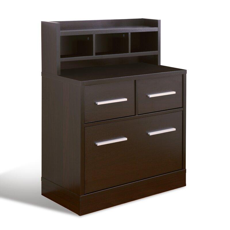 3 Drawer File Cabinet Workstation