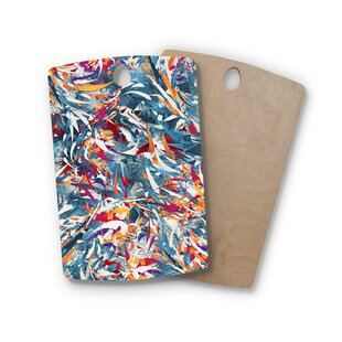 Danny Ivan Birchwood Excited Colors Cutting Board