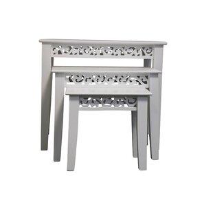 3 Piece Nest Of Tables By Fleur De Lis Living