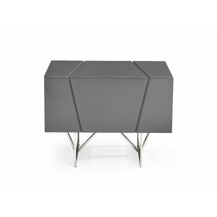 Marisol Modern 1 Drawer Nightstand
