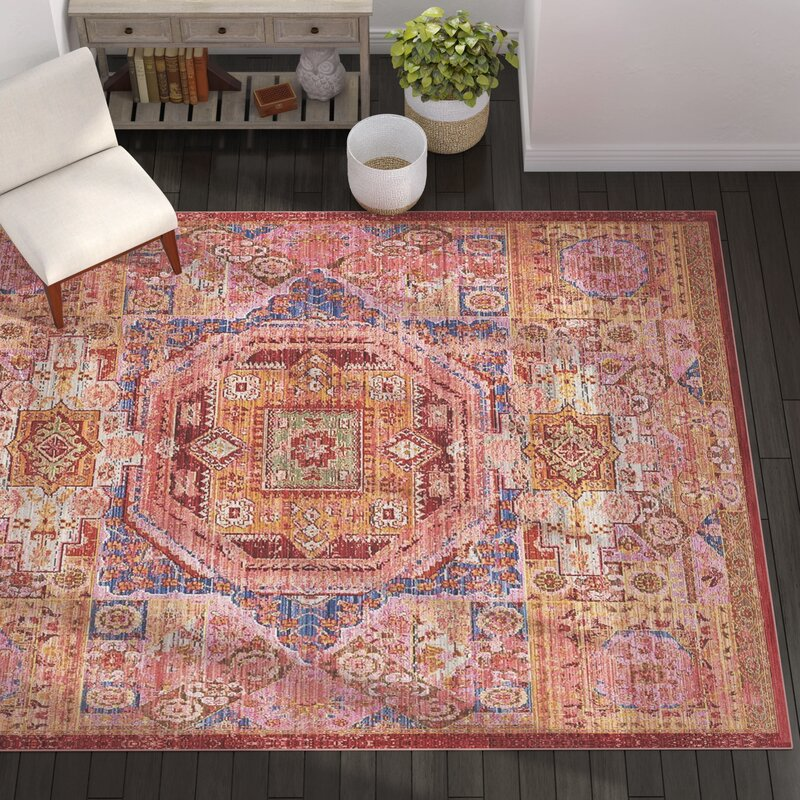 Mistana Baby Kids Bradford Oriental Multicolor Area Rug Reviews Wayfair